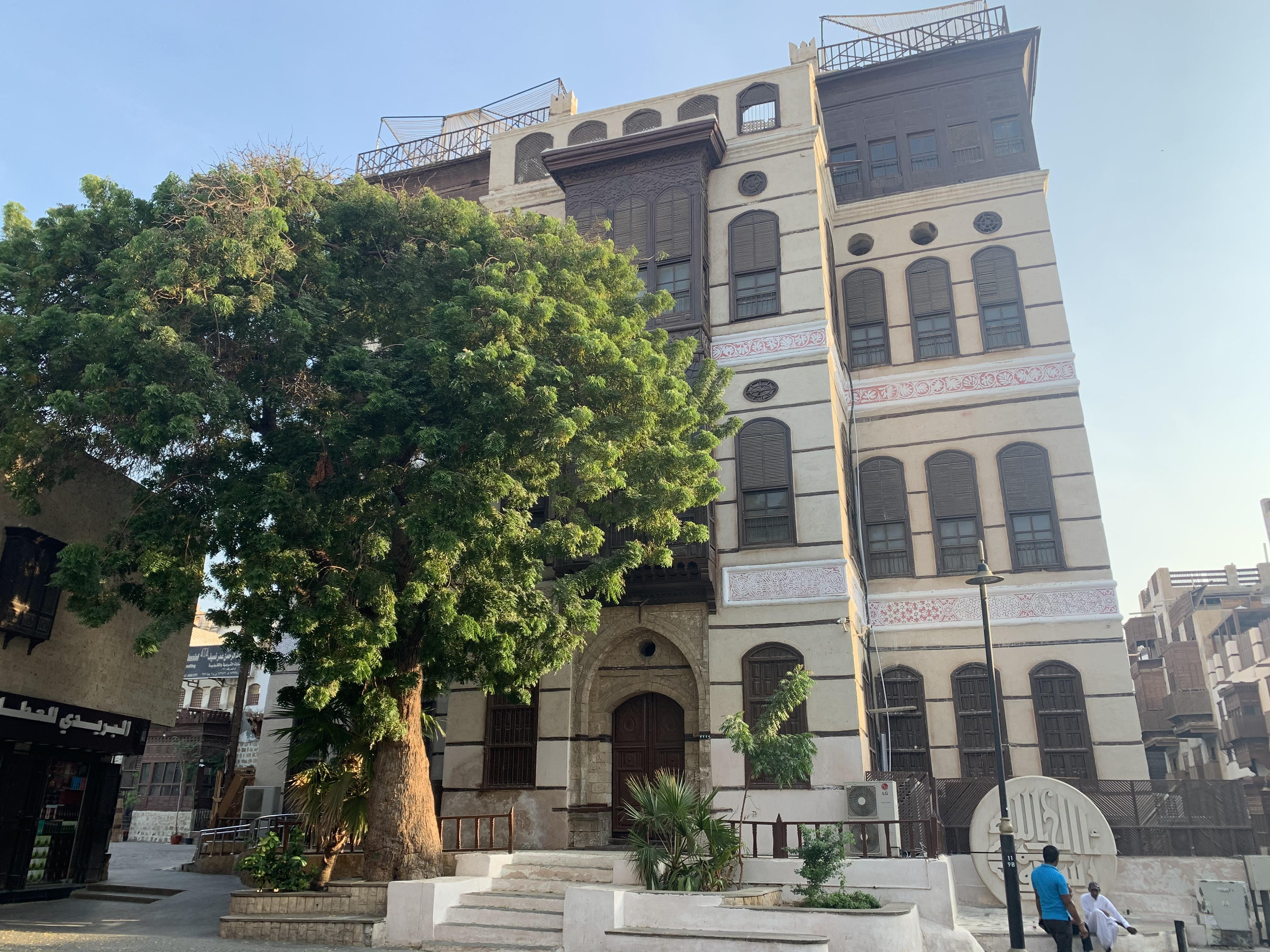 معلومات عن فن الرواشين المعماري في جدة